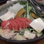 11436854 - 居酒屋あんじ麩屋町綾小路店のあんじサラダ(11.08)