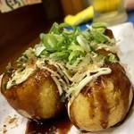 Yangurifu - たこ焼き ソース ノーマル トッピング ネギ・カツオ・マヨネーズ