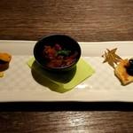 Teppanyakigurou - 前菜盛り合わせ