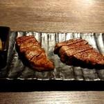鉄板焼きgrow - 黒毛和牛熟成肉の赤身ステーキ