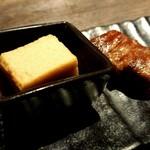 鉄板焼きgrow - 醤油のムース