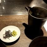 鉄板焼きgrow - 出汁