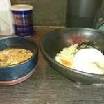 114363244 - つけ麺魚介正油(並盛)