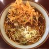 文殊 - 料理写真:かきあげそば(390円)