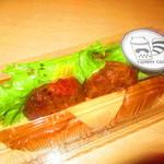 トミー コージー - チーズハンバーグドッグ 372円(税込)【2019年8月】