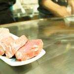 セル ペペ - 料理写真:二種類のお肉を頂ける