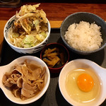 久兵衛屋 - 料理写真:豚肉朝食410円