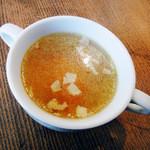 小さなワイン食堂 タブリエ - スープ