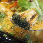 Spice&mill - じっちゃんの百年味噌カレー(ブロッコリー)