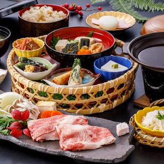 【オリジナル創作御膳】高野山の精進料理に和歌山の美味しさを◎