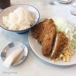 とん金 - チキンカツ定食