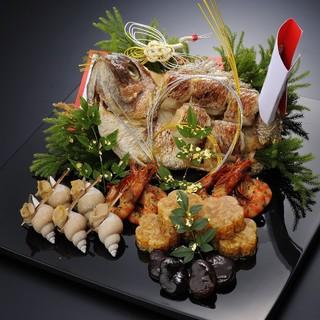 贅を尽くした会席料理はお祝いやご法要のお席、ご接待などに最適