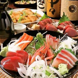 ◆2H飲み放題付◆味自慢のメニュー集結!コース5,000円~