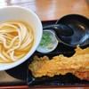 うどん居酒屋 江戸堀 - 料理写真:竹鶏天セット