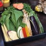 かがやき - 野菜盛り合わせ