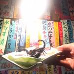 種よし - サソリ(2匹目)