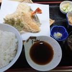 114379487 - 天ぷら定食