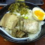 火鍋麺  - 角煮丼