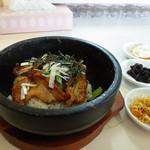 水刺間 - 料理写真:石焼豚カルビ丼