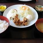 菊陽亭 - 料理写真:からあげ定食