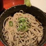 Uozaru - ミニぶっかけ蕎麦195円