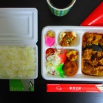 東京王府 - 【2019年8月28日】購入したお弁当。