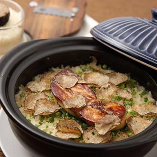 「フォアグラトリュフご飯」は贅沢がつまった至福の一杯!