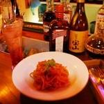 ルーズ フィット ランチ マーケット - 太麺で超美味しいです。ランチやって欲しいです。期待してます。
