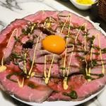 ル バー ラヴァン サンカンドゥ アザブ トウキョウ - 料理写真:成城石井自家製ローストビーフ