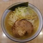 麺屋ななしぐれ - 「黄金塩」750円。