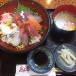 魚山亭 - 特上魚山丼