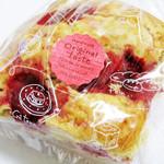 サードプレイスカフェ - 苺とクリームチーズ。
