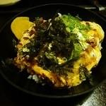 ひっこしてようなった大ちゃん - カス玉子丼(680円)