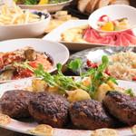 ワインバルRough - 吊るし熟成短角牛のハンバーグステーキ
