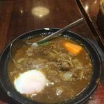 ホットスプーン - 牛すじ煮込み&熟成玉ねぎのカレー