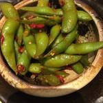 火一刀 - 枝豆のペペロンチーノ