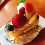 タカノ - 料理写真:フルーツタルト