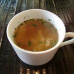 レストランバー ブゼン - スープ