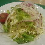 レストラン グリーンパーラー - ドリアに付属のサラダ