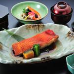 和食処 こばやし - 金目鯛煮付定食
