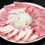 やきやき亭 - 肉盛り_塩