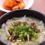 ISEYA - トガニタン(コラーゲンたっぷり牛煮込みスープ) 1500円