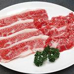 スーパー和牛 - 料理写真:夢咲牛カルビ