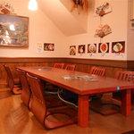 ISEYA - 小上がり席には~10名様までOKのテーブルもあり