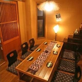 6名様用完全個室~カラオケのある個室から大宴会場までご用意。