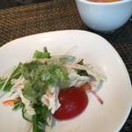 中国四川料理 道 - 前菜です。