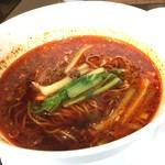 中国四川料理 道 - 酢辣湯麺。