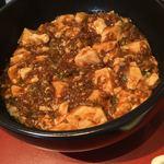 中国四川料理 道 - 麻婆豆腐辛さゼロ。甘口味噌を使用です。