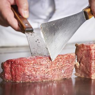 【贅沢食材】豪華食材を鉄板焼きで堪能