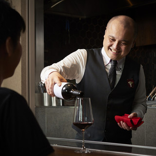 ソムリエ厳選のワインと和のマリアージュ